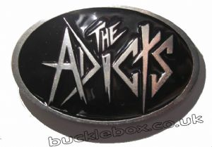 THE ADICTS Belt Buckle + display stand